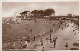 BRINDISI-SPIAGGIA SANT'APOLLINARE-CARTOLINA VERA FOTOGRAFIA NON VIAGGIATA -ANNO 1940-1948 - Brindisi