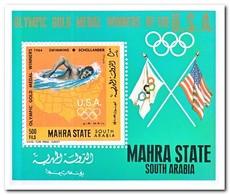Aden Mahra State 1968, Postfris MNH, Olympic Summer Games - Verenigde Arabische Emiraten