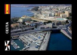 Ceuta City Aerial View New Postcard - Ceuta