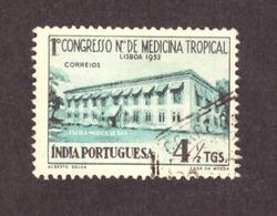 Inde Portugaise  1952 -  International Congress On Tropical Medicine, Lisbon # TBE# - Inde Portugaise