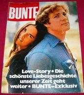 Ali MacGraw Ryan O'Neal - BUNTE - German February 1977 RARE - Ohne Zuordnung