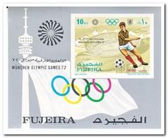 Fujeira 1971, Postfris MNH, Olympic Summer Games, Football - Fujeira