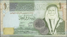 TWN - JORDAN 34h - 1 Dinar 2013 UNC - Jordanien