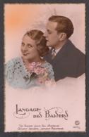 91893/ COUPLE, *Langage Des Baisers*, Années 40 - Couples