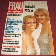 Alice Kessler And Ellen Kessler FRAU IM SPIEGEL - German July 1975 ULTRA RARE - Unclassified