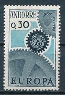 °°° ANDORRA - Y&T N°179 - 1967 MNH °°° - Andorra Francese