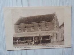 1920 CP Plombières Hôtel Restaurant De La Gare Propriétaire CH. Wintgens  Montzen - Blieberg