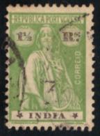 """Inde Portugaise  - 1922  """"CERES"""" - Inde Portugaise"""