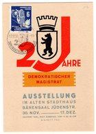 "Ereigniskarte ""2 Jahre Demokratischer Magistrat"" - [6] République Démocratique"