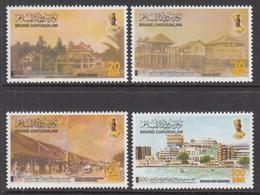2003 Brunei  Movement Of Capital To Bandar Complete Set Of 4 MNH - Brunei (1984-...)
