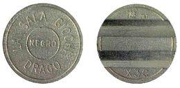 04383 GETTONE JETON TOKEN NEGRO AMUSEMENT SALA GIOCO DRAGO MAGGI MILANO CONIATURE MMC PPT X3C - Italy