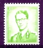 BELGIE Boudewijn Bril * Nr 1068 P3 * Postfris Xx * FLUOR PAPIER - 1953-1972 Lunettes