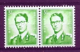 BELGIE Boudewijn Bril * Nr 1068 P3a * Postfris Xx * FLUOR PAPIER - 1953-1972 Glasses