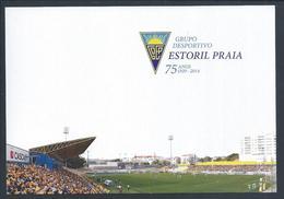 Postcard Stationery Estoril Beach Soccer Stadium, Estoril, Portugal. Voetbalstadion. Fußballstadion. 2sc. - Calcio