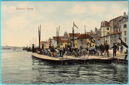 SIBENIK ( Sebenico ) - Obala ( Croatia ) * Not Travelled * Dalmatia Kroatien Croazia - Croatie