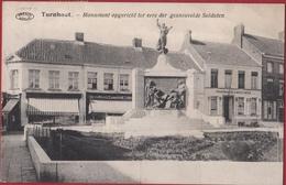 Turnhout Monument Opgericht Der Gesneuvelde Soldaten WW1 WWI World War 1 Memorial Premiere Guerre Mondiale - Turnhout