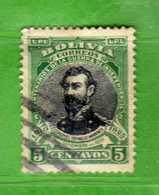 (Us3) BOLIVIA° - 1910 - Warnes - Yvert. 87  - Used Oblitéré Vedi Descrizione. - Bolivia