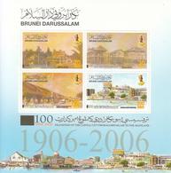 2008 Brunei Capital Move To Bandar Souvenir Sheet Complete Set Of 1 MNH - Brunei (1984-...)