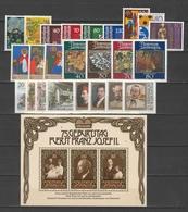 LIECHTENSTEIN  Xx  1981  ANNATA  COMPLETA     -  Postfrisch  -   Vedi  Foto ! - Liechtenstein