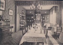 Ste Mariaburg Grand Hôtel St-Antoine Intérieur Du Restaurant - Brasschaat