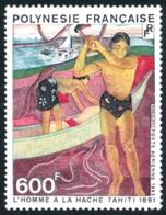 POLYNESIE 1983 - Yv. PA 174 ** SUP  Faciale= 5,04 EUR - Tableau De Paul Gauguin  ..Réf.POL23691 - Poste Aérienne