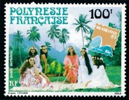 POLYNESIE 1983 - Yv. PA 176 **   Faciale= 0,84 EUR - Expo Phil. Intern. Brasiliana'83   ..Réf.POL23695 - Luftpost