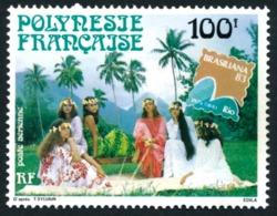 POLYNESIE 1983 - Yv. PA 176 **   Faciale= 0,84 EUR - Expo Phil. Intern. Brasiliana'83   ..Réf.POL23696 - Luftpost