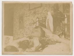 REAL ANCIENNE PHOTO, PHOTO MORTUAIRES Kid Boy - Post-mortem, Garcon Photo ORIGINAL - Photos