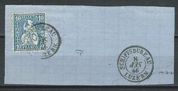 SBK 31, Mi 23 O Schiffsbureau Luzern HB 2018a Monat Verkehrt Eingesetzt! - 1862-1881 Sitzende Helvetia (gezähnt)