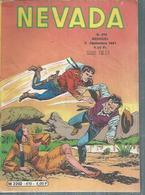 NEVADA N° 410   - LUG  1981 - Nevada