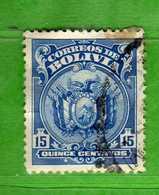 (Us3) BOLIVIA° - 1925 - Yvert. 131 - Used Oblitéré Vedi Descrizione. - Bolivia