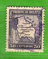 (Us3) BOLIVIA° - 1935 - Yvert. 201 - Used Oblitéré Vedi Descrizione. - Bolivia