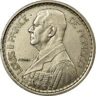 Monnaie, Monaco, Louis II, 20 Francs, Vingt, 1947, Paris, TTB, Copper-nickel - Monaco
