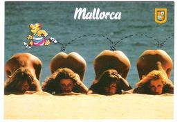 Spain - PIN UP - Femme - Nude Nue Girl - Woman - Frau - Erotic - Erotik - Humor Card - Pin-Ups