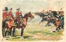 KING GEORGE V REVIEWING TROOPS AT ALDERSHOT - ARTIST SIGNED HARRY PAYNE #89103 - Other Illustrators
