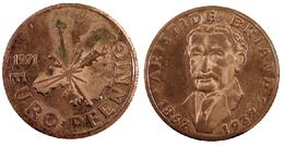 05285 GETTONE JETON TOKEN COMMEMORATIVE ARISTIDE BRIAND 1862-1932  EURO PFENNIG 1971 - Germany