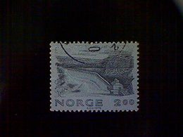 Norway (Norge), Scott #751, Used (o), 1979, Vessingsjo Dam, 2k, Dark Blue And Blue - Norway