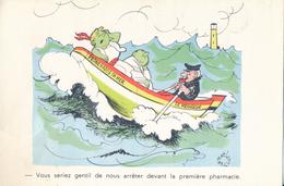 HUMOUR : Illustrateur JEAN BELLUS - Promenades En Mer - Humour