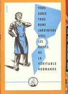 BUVARD :Tous Bons Jardiniers  Outils De La Veritable Normande - Agriculture