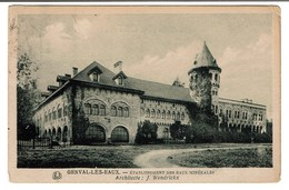 Genval-les-Eaux - Etablissement Des Eaux Minérales - 1921 - Architecte J. Wendrickx - 2 Scans - Rixensart