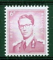 BELGIE Boudewijn Bril * Nr 1069 * Postfris Xx * WIT  PAPIER - 1953-1972 Glasses