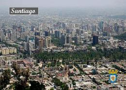 Chile Santiago Aerial View New Postcard - Chile