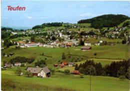 SVIZZERA  SUISSE  AR  TEUFEN  Panorama - AR Appenzell Rhodes-Extérieures