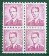 BELGIE Boudewijn Bril * Nr 1069 P3a * Postfris Xx * FLUOR  PAPIER - 1953-1972 Lunettes