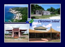 Christmas Island Multiview New Postcard Weihnachtsinsel Australien AK - Christmas Island