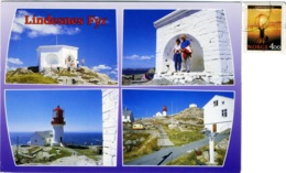 NORGE  NORWAY  NORVEGIA  LINDESNES FYR  The Lindesnes Lighthouse  Faro  Phare  Nice Stamp - Norvegia