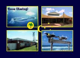 Cocos (Keeling) Islands Multiview New Postcard Kokosinsel AK - Kokosinseln (Keeling Islands)