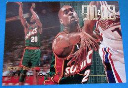 GARY PAYTON   CARDS NBA FLEER 1996 N 484 - Trading Cards