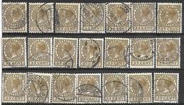 8Bv-768: Reste Van 21 Zegels...35 Cent. ...verder Uit Te Zoeken... - 1891-1948 (Wilhelmine)
