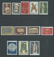Cyprus 1976 Artefacts Definitives Set 12 MLH - Unused Stamps